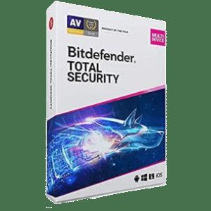 Bitdefender Total Security 10 Usuarios 1 ano